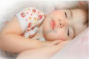 Сон детей 1-13 лет