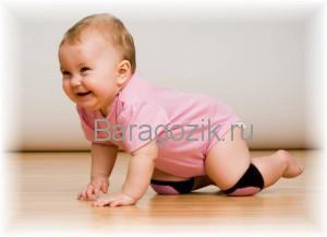 Ребёнок 8 месяцев ползает
