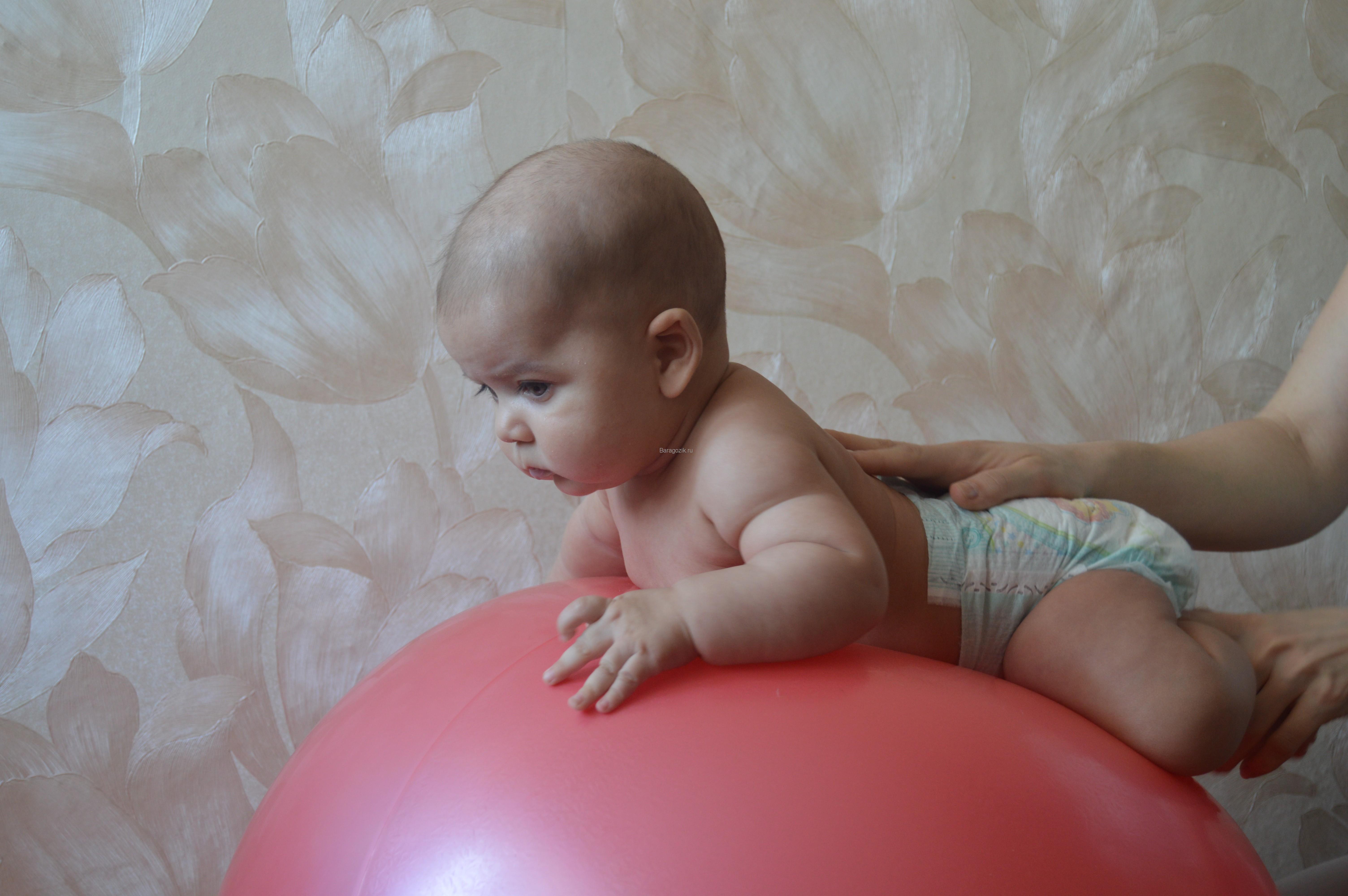 Фото дети на мяче для