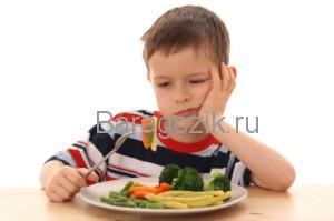 Ребенок не кушает
