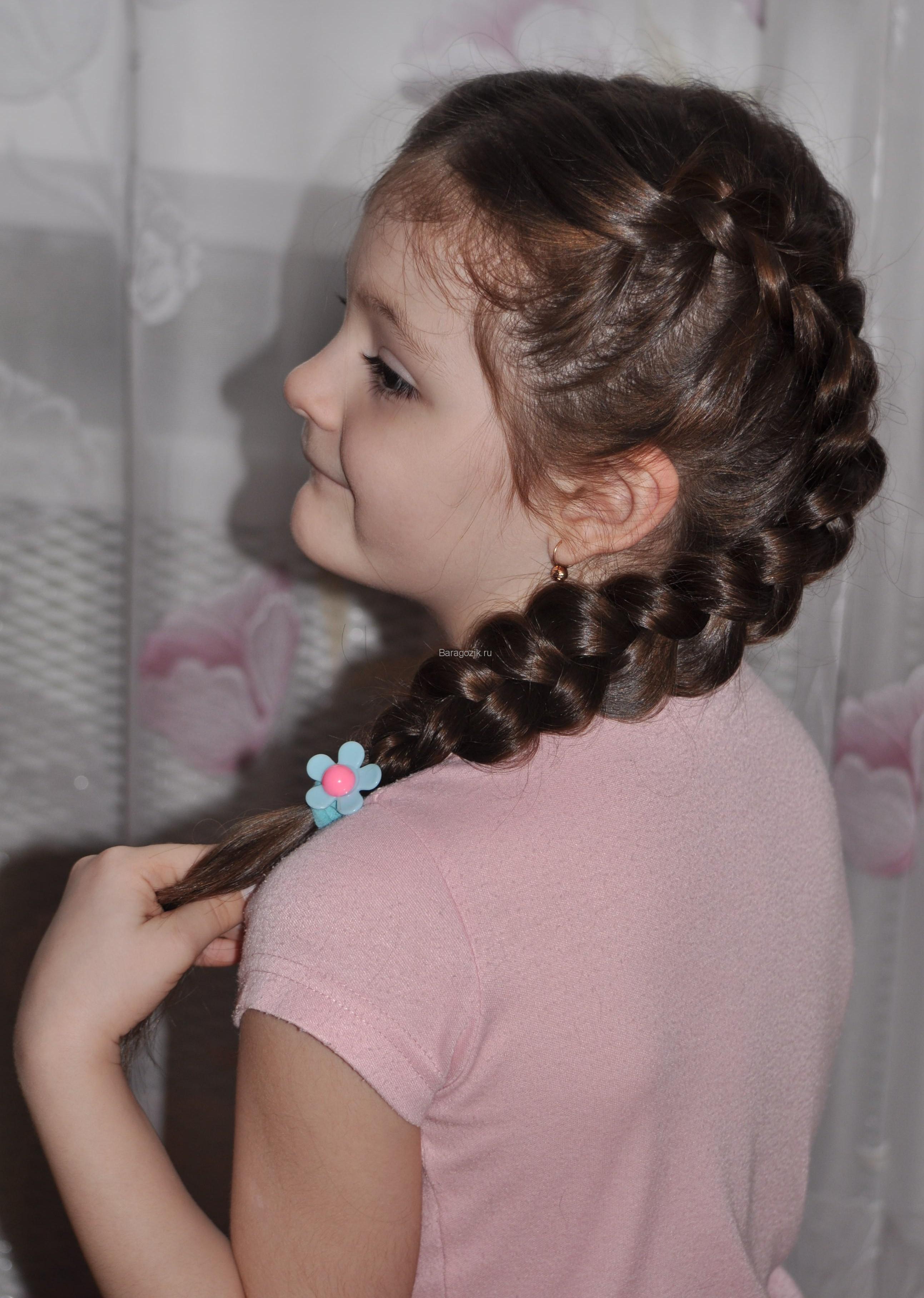 Прически с косами фото девочками