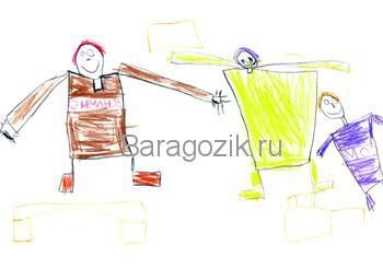о чем рассказывает рисунок ребенка