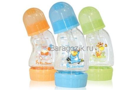 бутылочка для кормления выгнутая антиколиковая