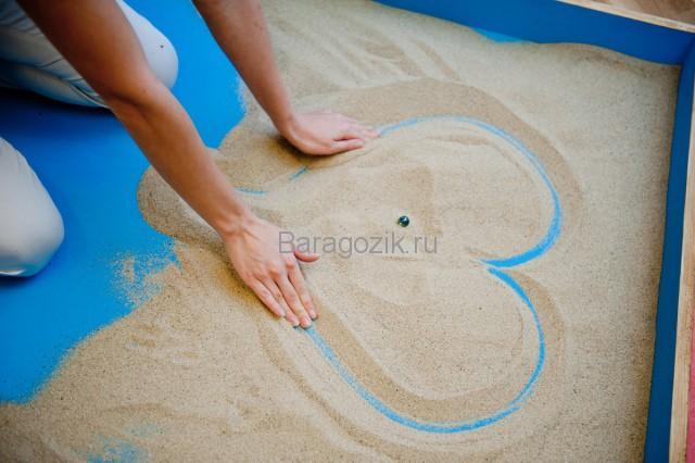 упражнения для песочной терапии