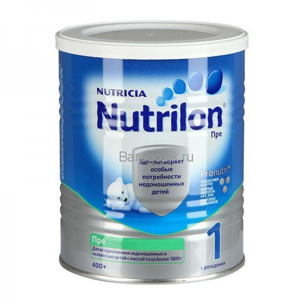 смесь для недоношенных детей нутрилон