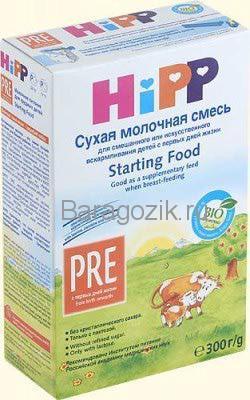 смесь для недоношенных детей хипп пре