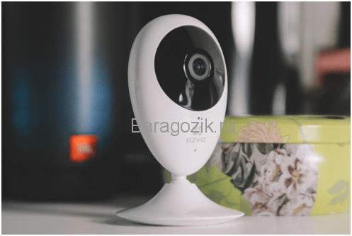 Видеонаблюдение дома с видеокамерой EzvizC2C сделает дом для ребенка и вас безопасным