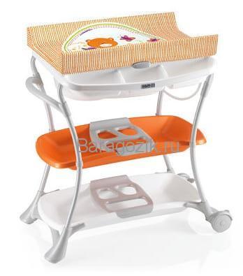 Стол пеленальный с ванночкой Nuvola /CAM