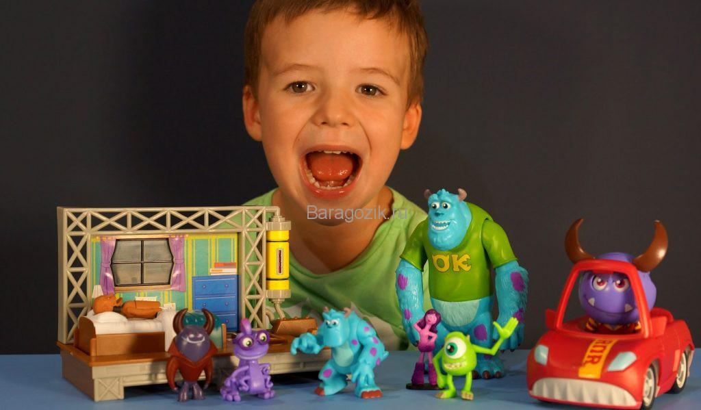 вред игрушек монстров