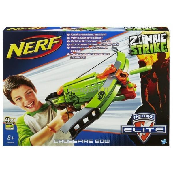Новый реалистичный бластер NERF из линейки Зомби Страйк