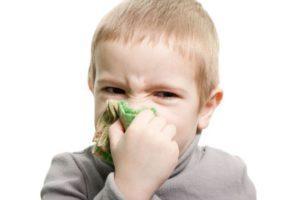 Заложенность носа носа у ребенка но соплей нет