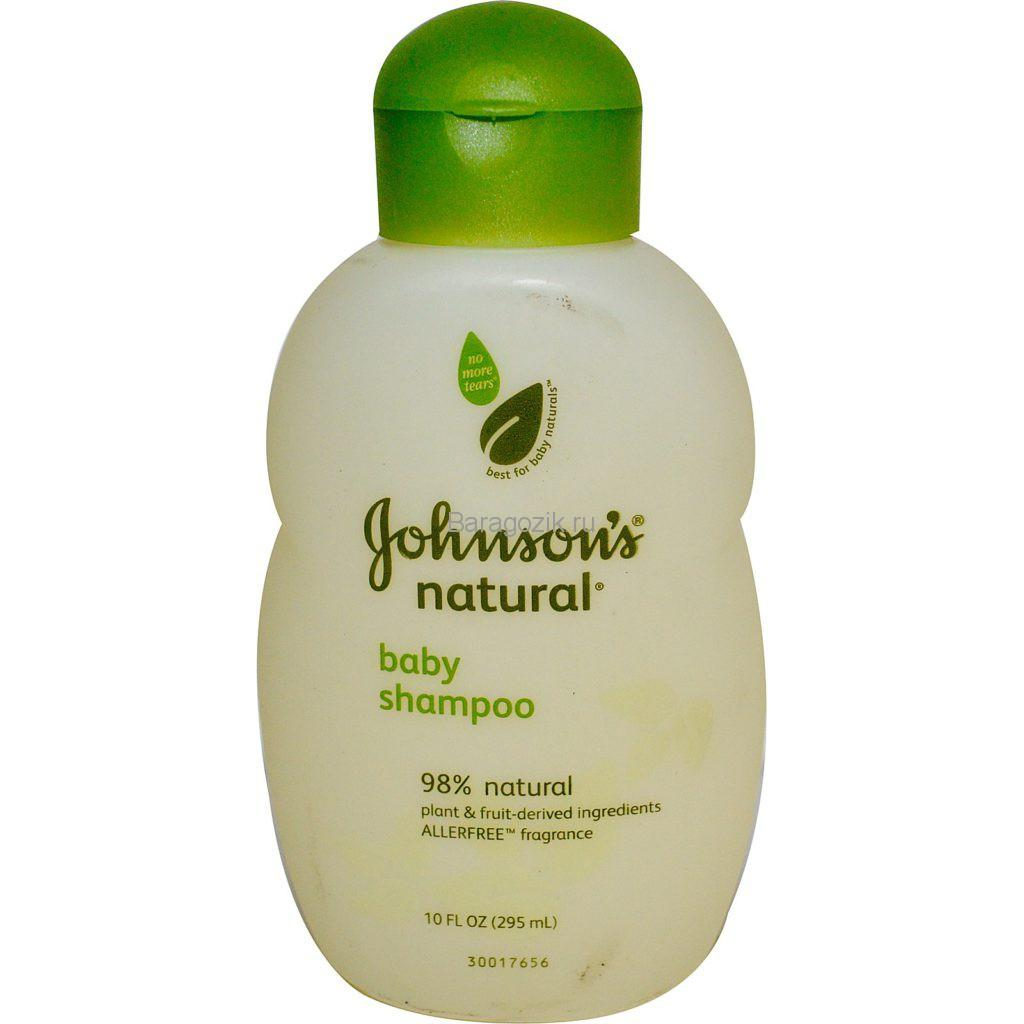 JOHNSON'S Baby шампунь Natural