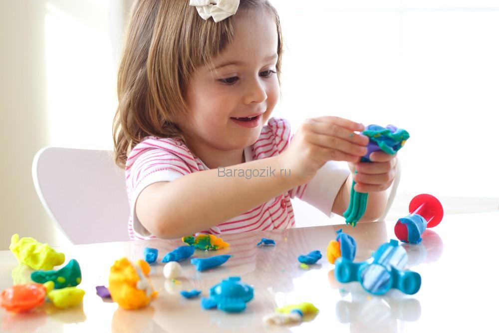 Игра с пластилином