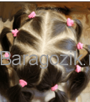 Поделить волосы
