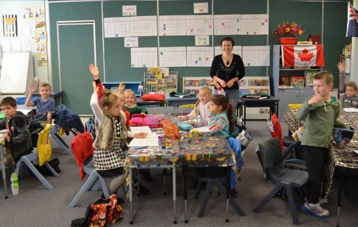 Урок в австралийской школе