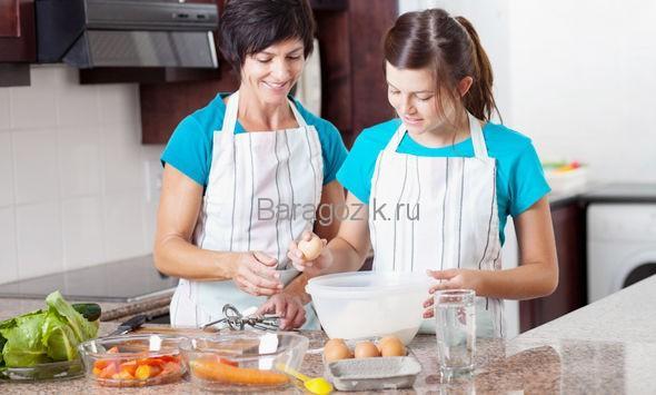 как учить подростков кулинарии