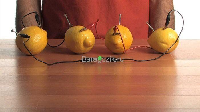 опыты с лимоном для детей