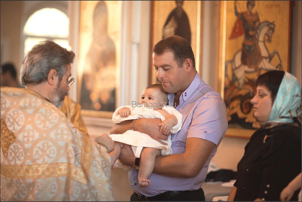 Крестный в армянской семье