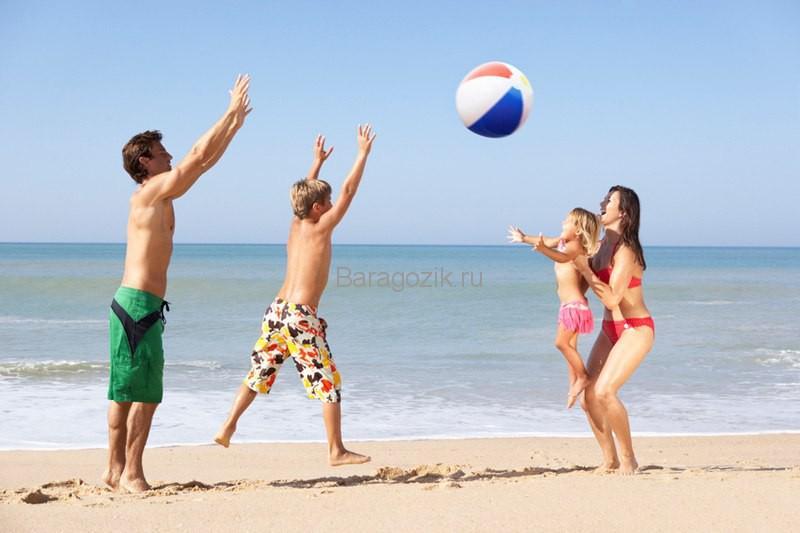 игры для детей и взрослых на море