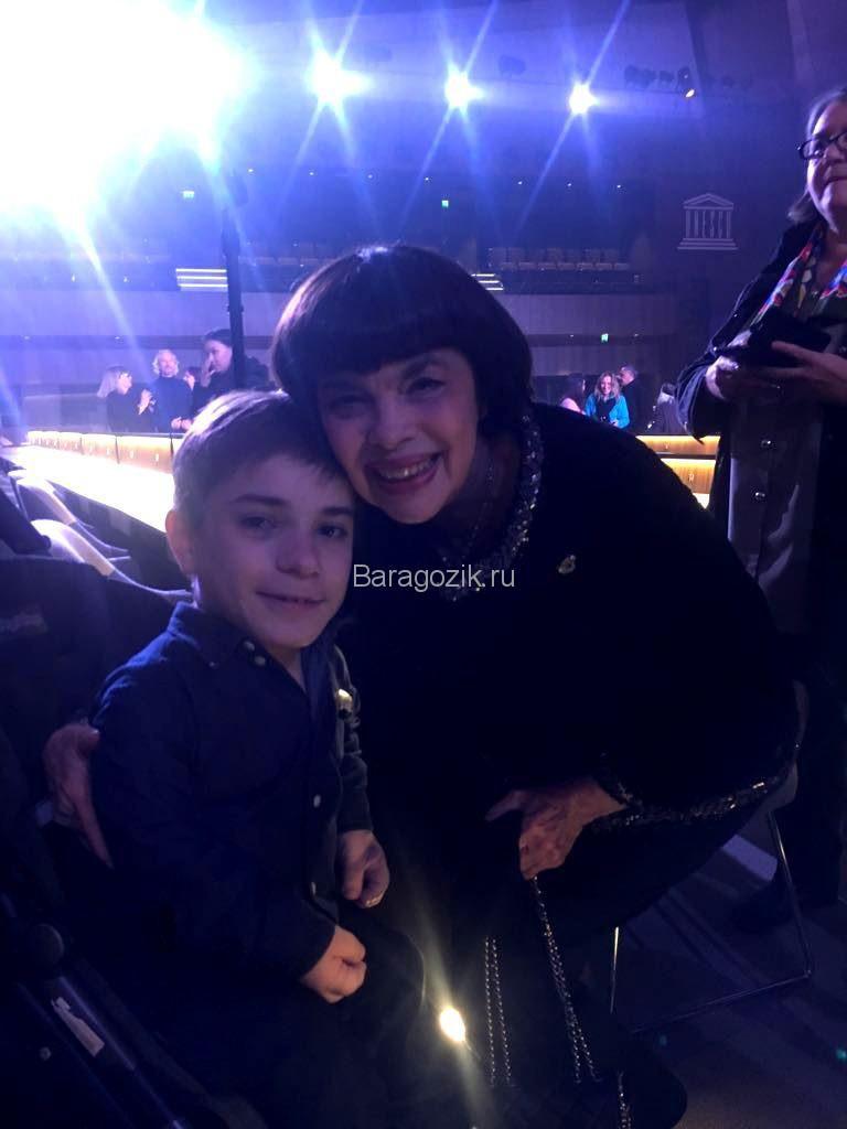 Данила с мамой