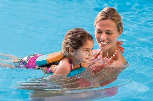 как учить плавать