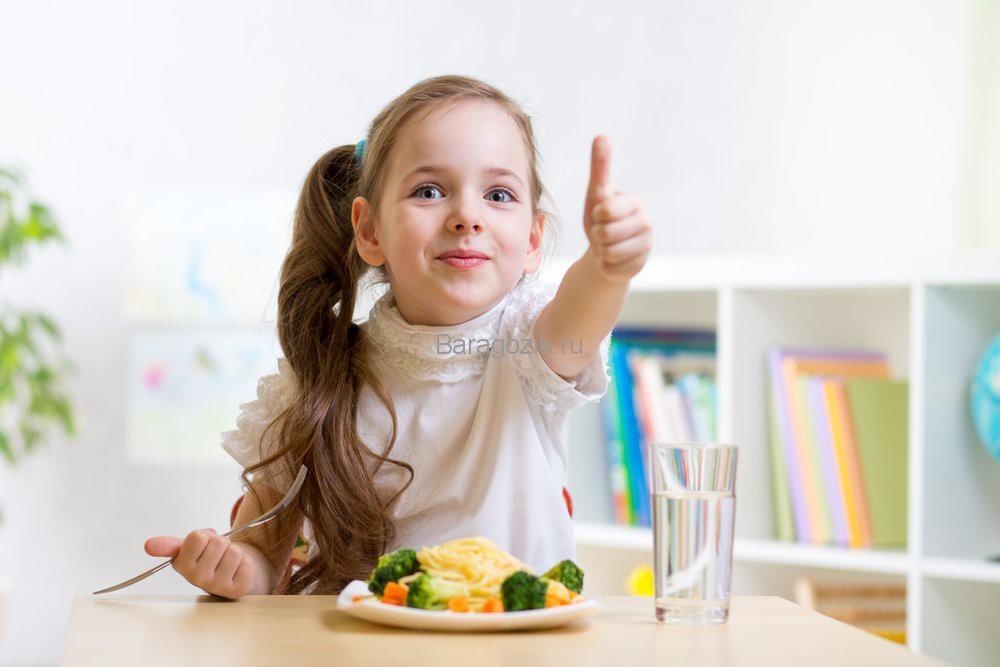 Питание при запорах у детей