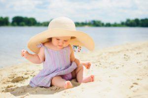 профилактика солнечных ожогов у детей