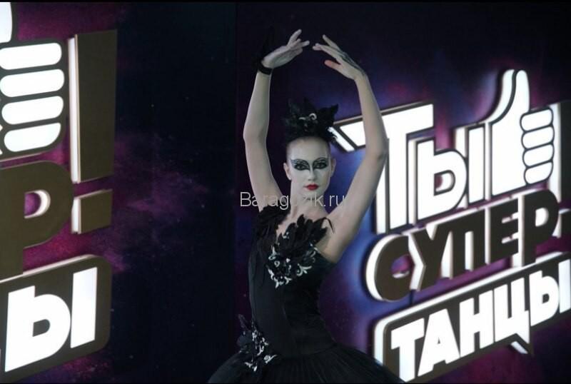 Настя Яшкина танцует