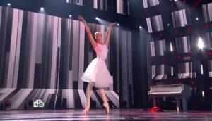 Выступление на сцене Насти Яшкиной