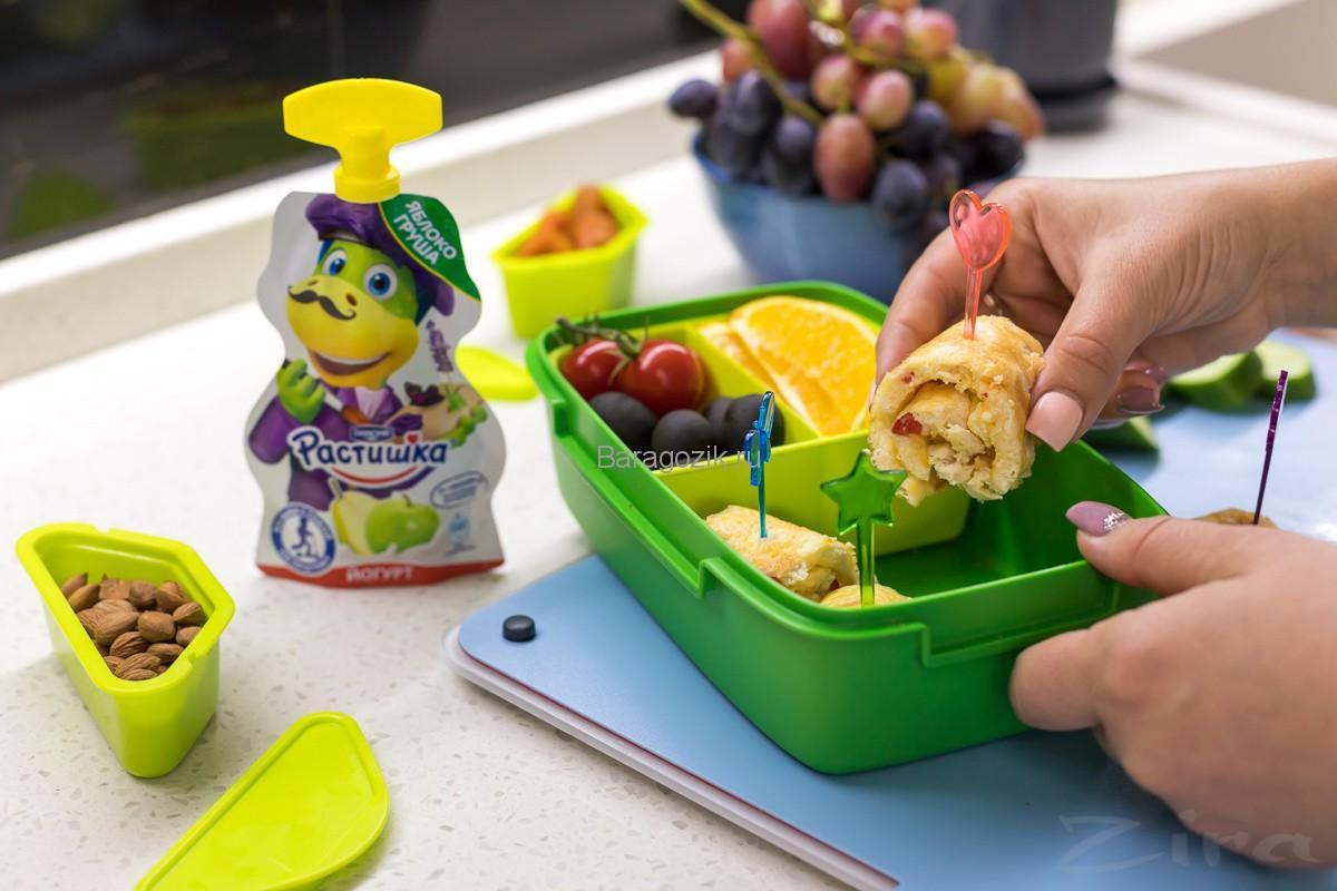 омлет для обеда школьника