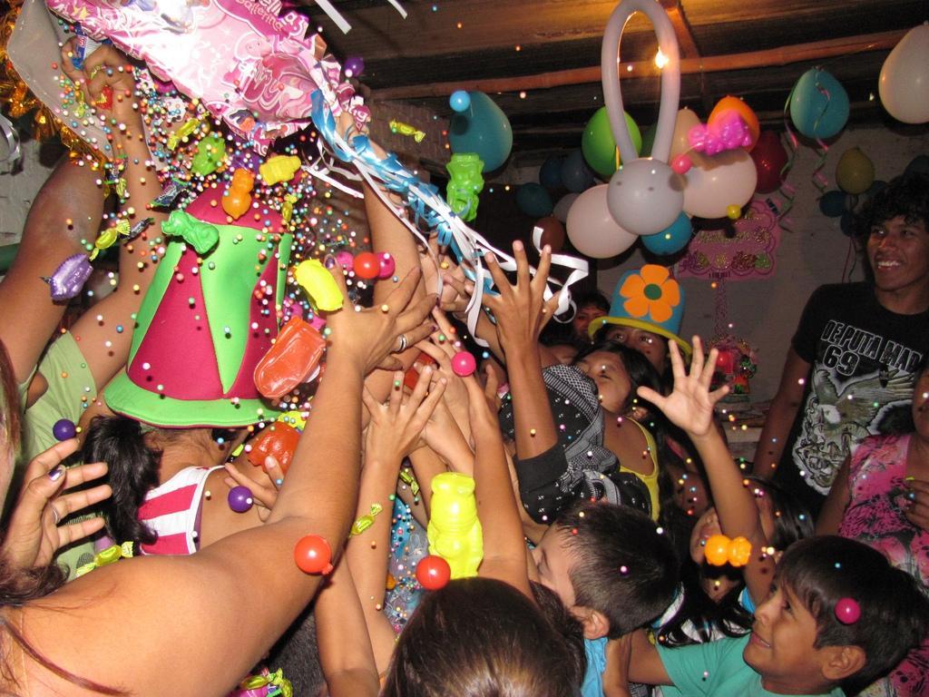 Детские праздники в Мексике