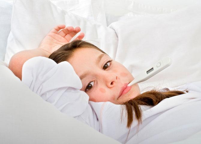 Лечение кори у детей и подростков