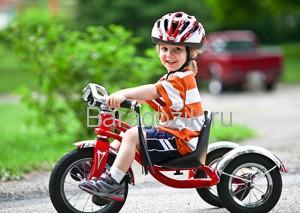 Как выбирать трехколесные велосипеды для детей
