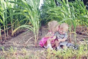 Дети в поле