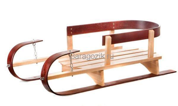 деревянные санки