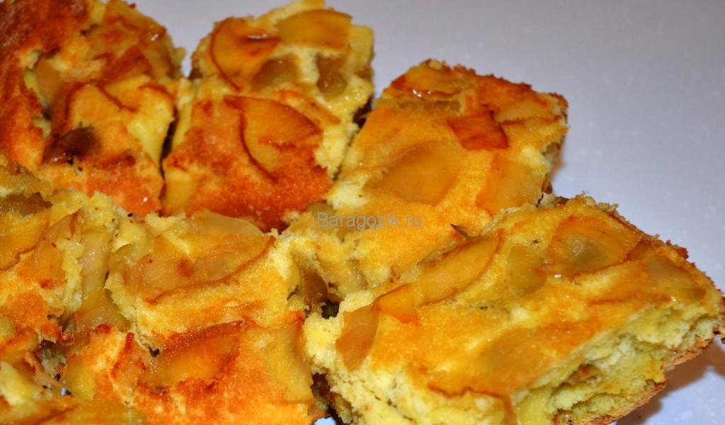 Шарлотка. Пирог с яблоками