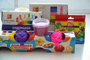 материал для лепки для детей