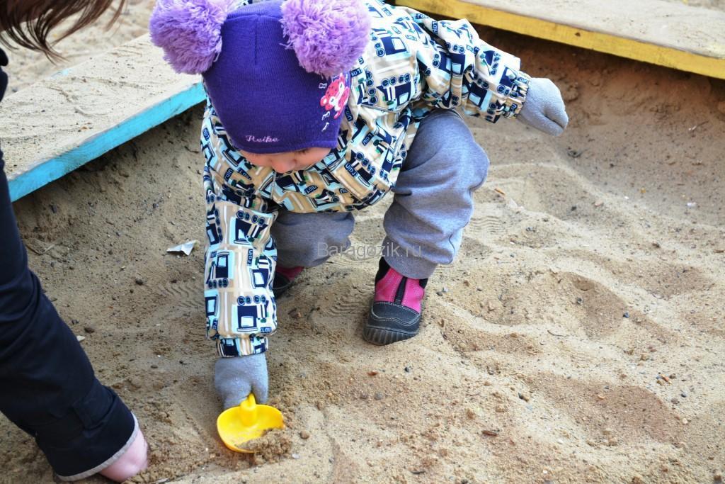 поиски маминой руки в песке