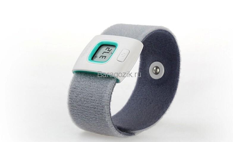 термометр браслет на руку
