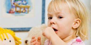 ребенок осип и кашляет