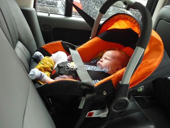 автокресло 0+ в подарок новорожденному