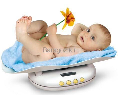 весы для новорожденного в подарок
