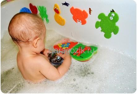 игрушки для купания на присосках