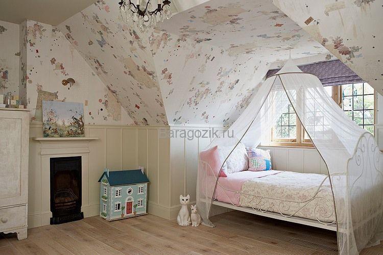 балдахин для кроватки