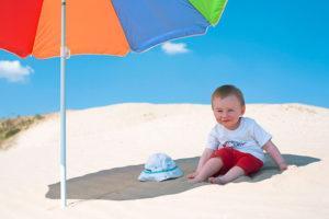 аллергия на солнце, море у детей