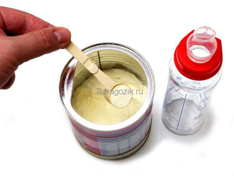 как приготовить детскую смесь