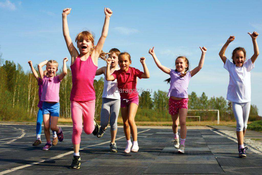 Девочки финишировали