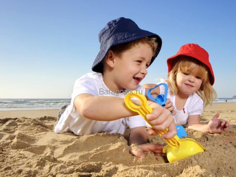 игры на пляже для маленьких детей