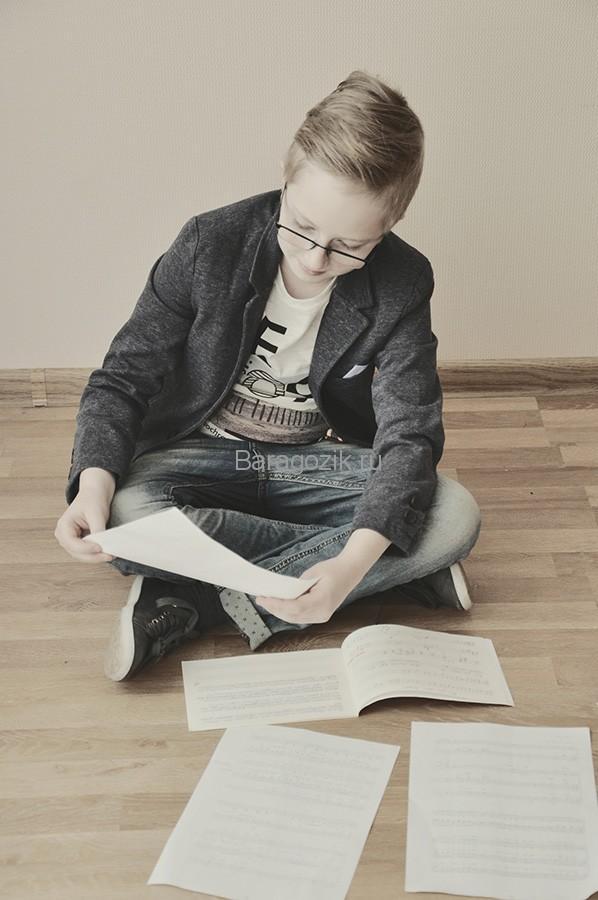 Эдуард с нотами
