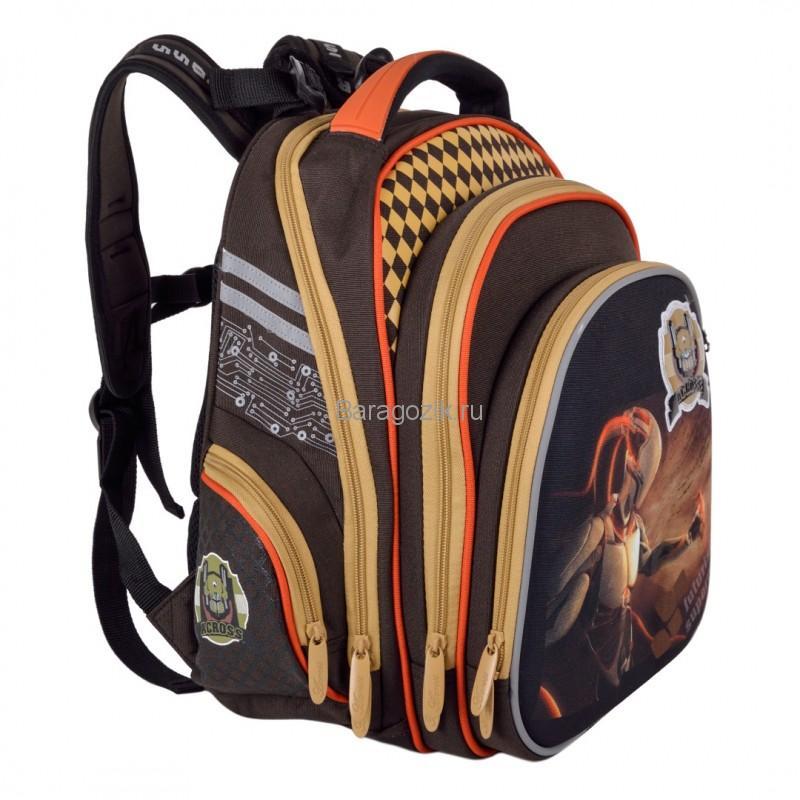 Бескаркасный рюкзак первоклассника